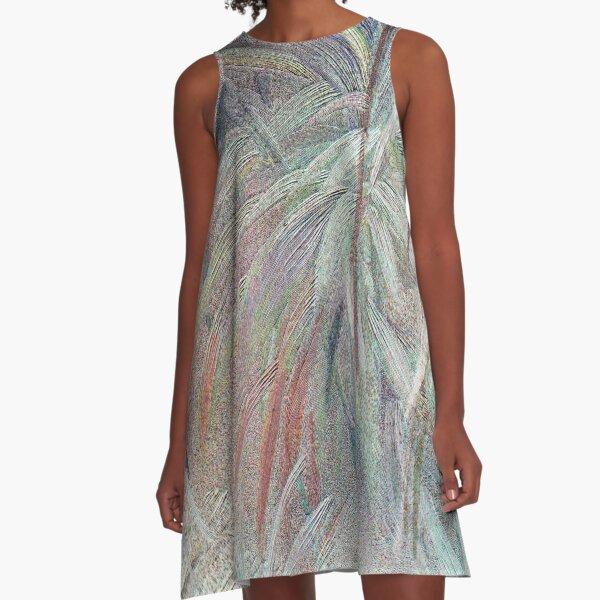 Splash A-Line Dress