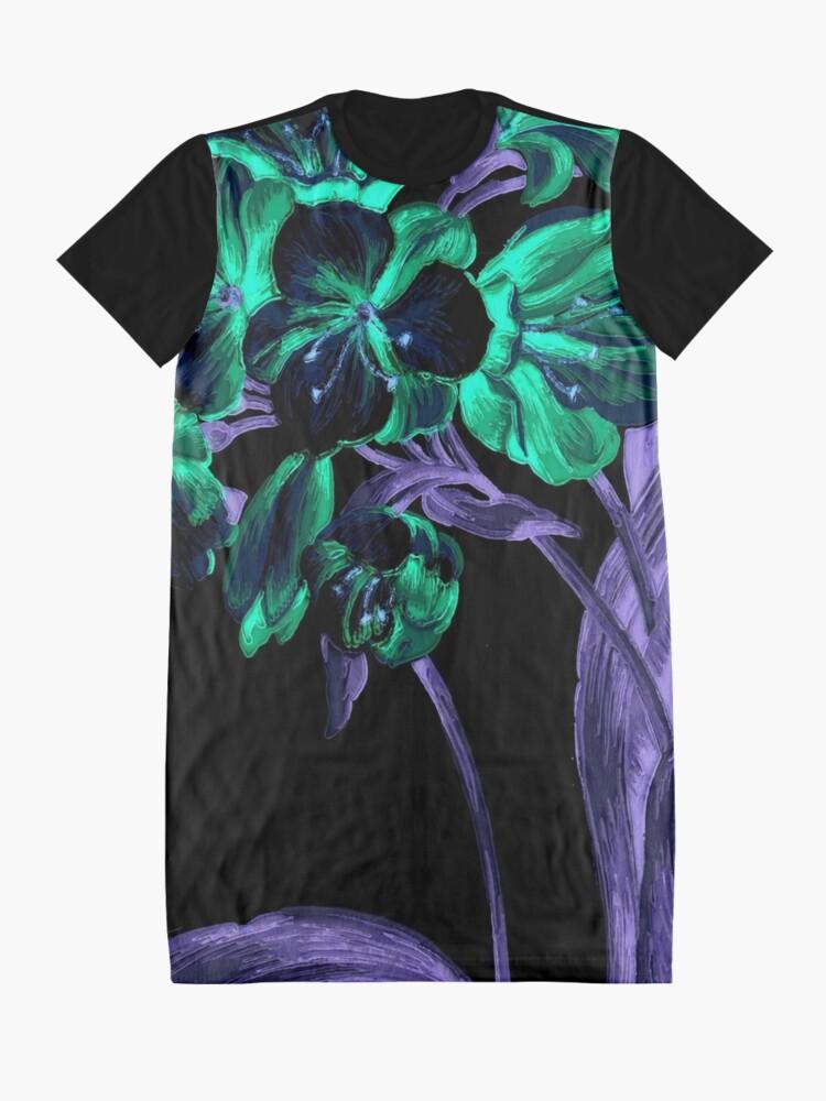 Alternate view of Garden Excerpt #101 Graphic T-Shirt Dress