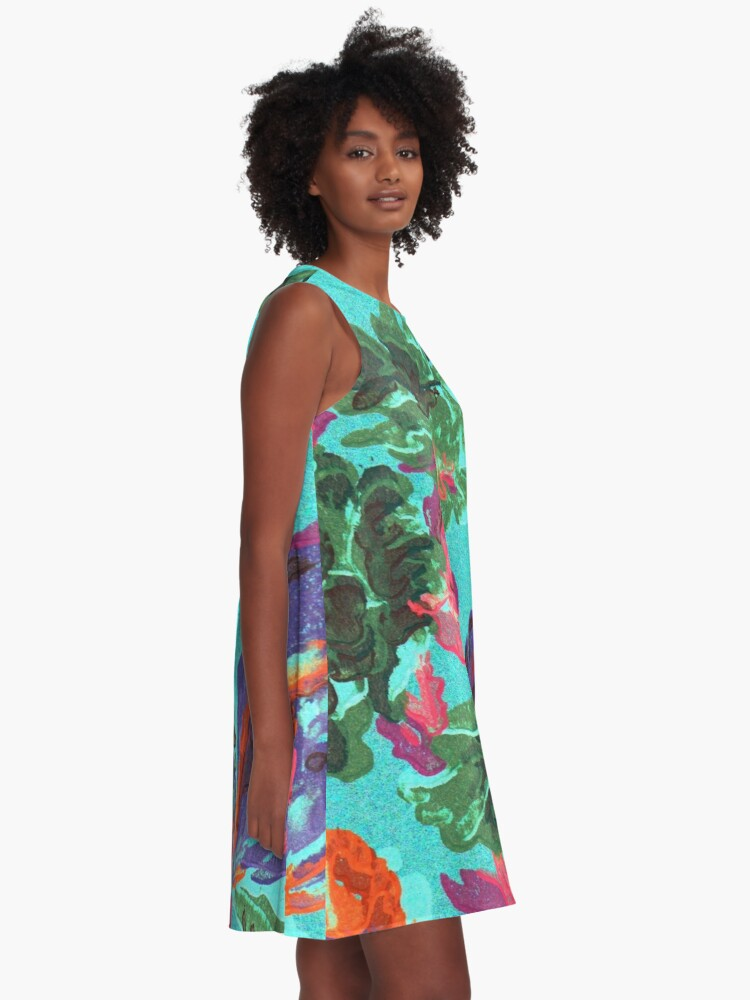 Alternate view of Happy Blooms A-Line Dress