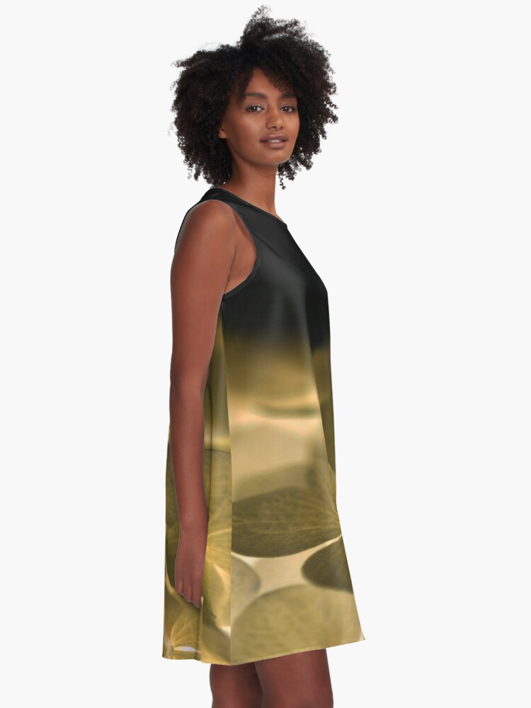 Alternate view of Glow Blossoms A-Line Dress