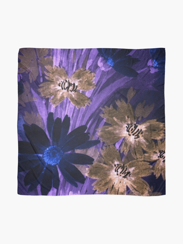 Alternate view of Floral Nightmare Scarf
