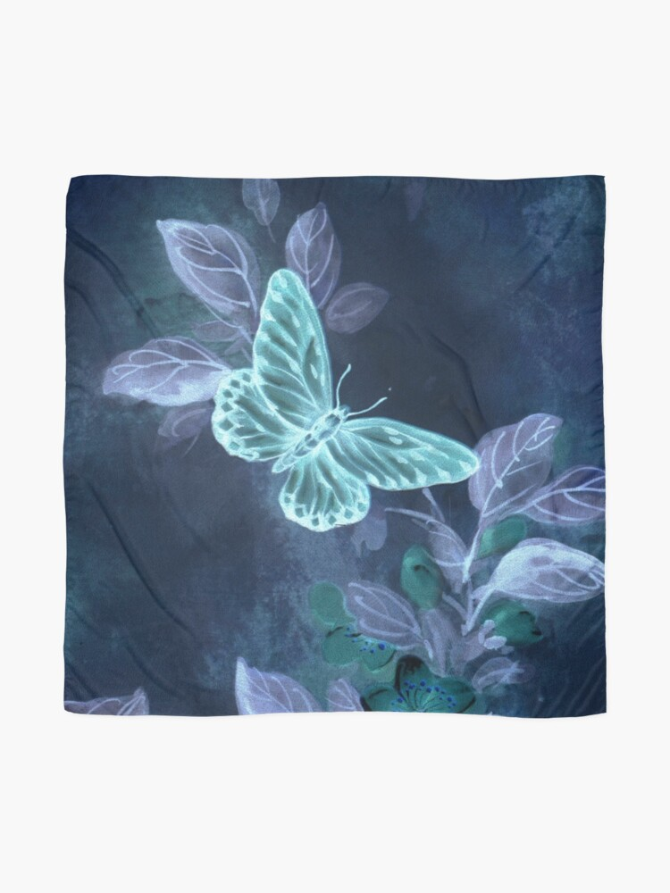 Alternate view of Night Glow Butterfly Scarf