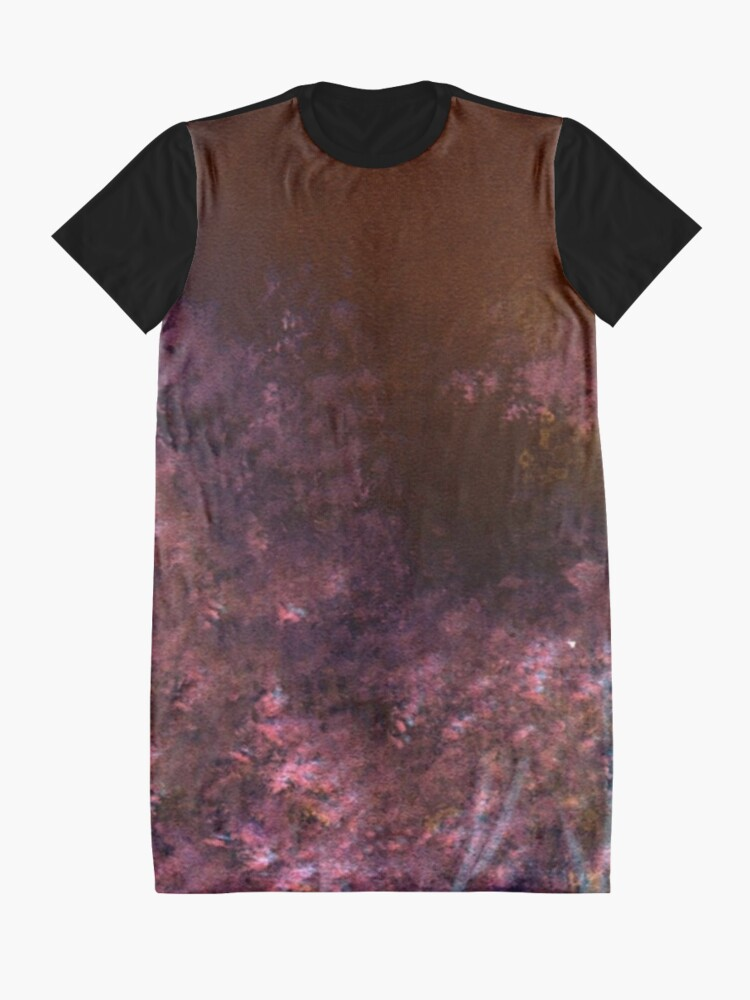 Alternate view of Ghostly Nights #100 Graphic T-Shirt Dress