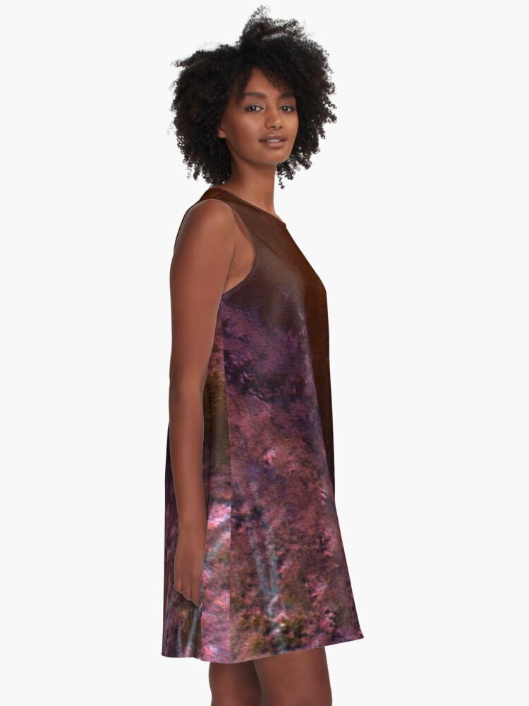 Alternate view of Ghostly Nights #100 A-Line Dress