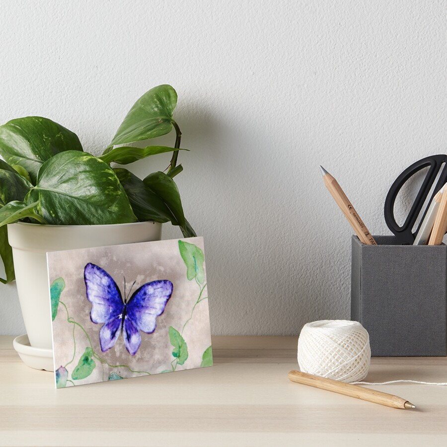Butterfly Whimsy Art Board Print