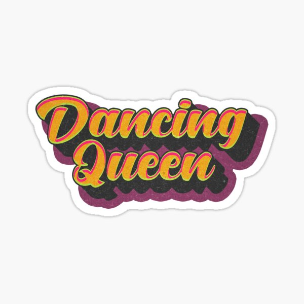 Dancing Queen Sticker