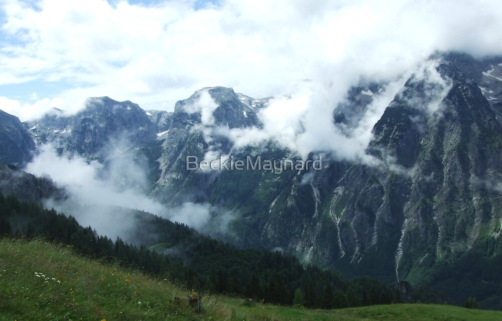 austrian mountains 8 by BeckieMaynard