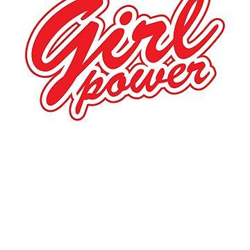 Girl Power Tshirt, Feminist Gift, Girl Power Feminism Tee Shirt, Feminist Shirt, Tumblr Clothing Gift by -WaD-