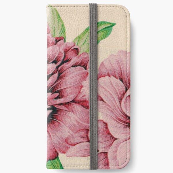 Pretty in Flowery Pink iPhone Wallet