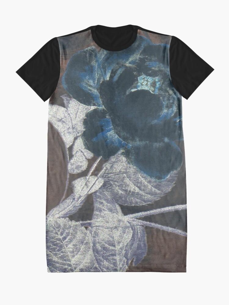 Alternate view of Darkest Rose Graphic T-Shirt Dress