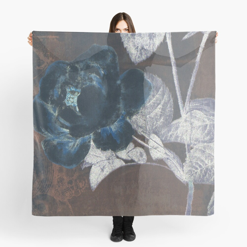 Darkest Rose Scarf