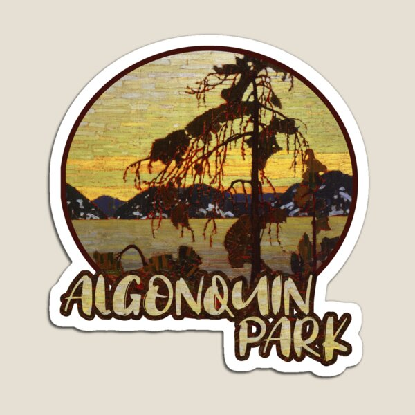 Algonquin Park Canada Magnet