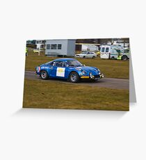 Alpine A110 Greeting Card
