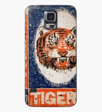 Distressed Detroit Tiger Yearbook 1964 Case/Skin for Samsung Galaxy