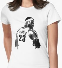 King James (Color Modifiable)  Womens Fitted T-Shirt
