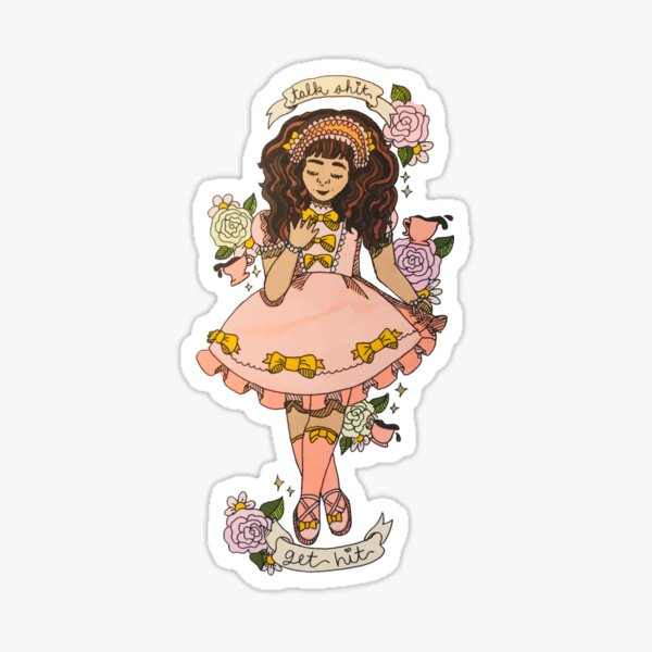 Angry Lolitas: TSGH Sticker