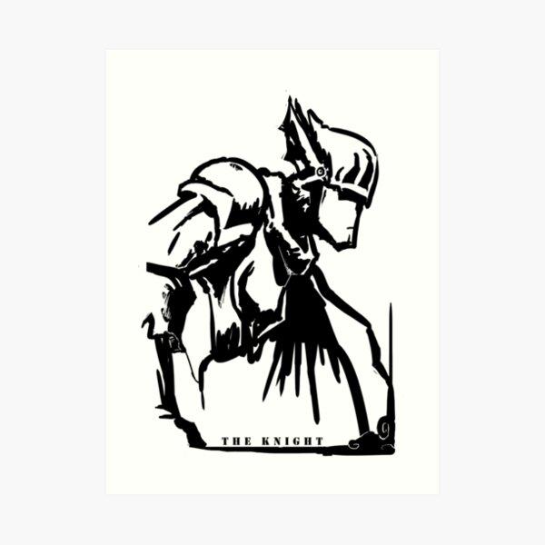 Der Ritter Kunstdruck
