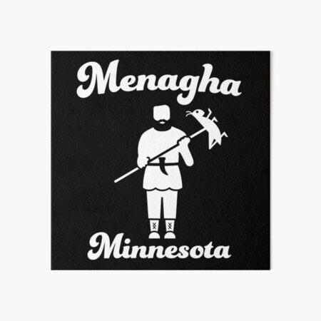 St. Urho, Menahga Minnesota Art Board Print