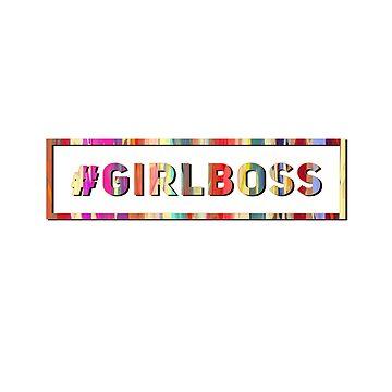 #girlboss Entrepreneur Blogger Design by BossBabeArt