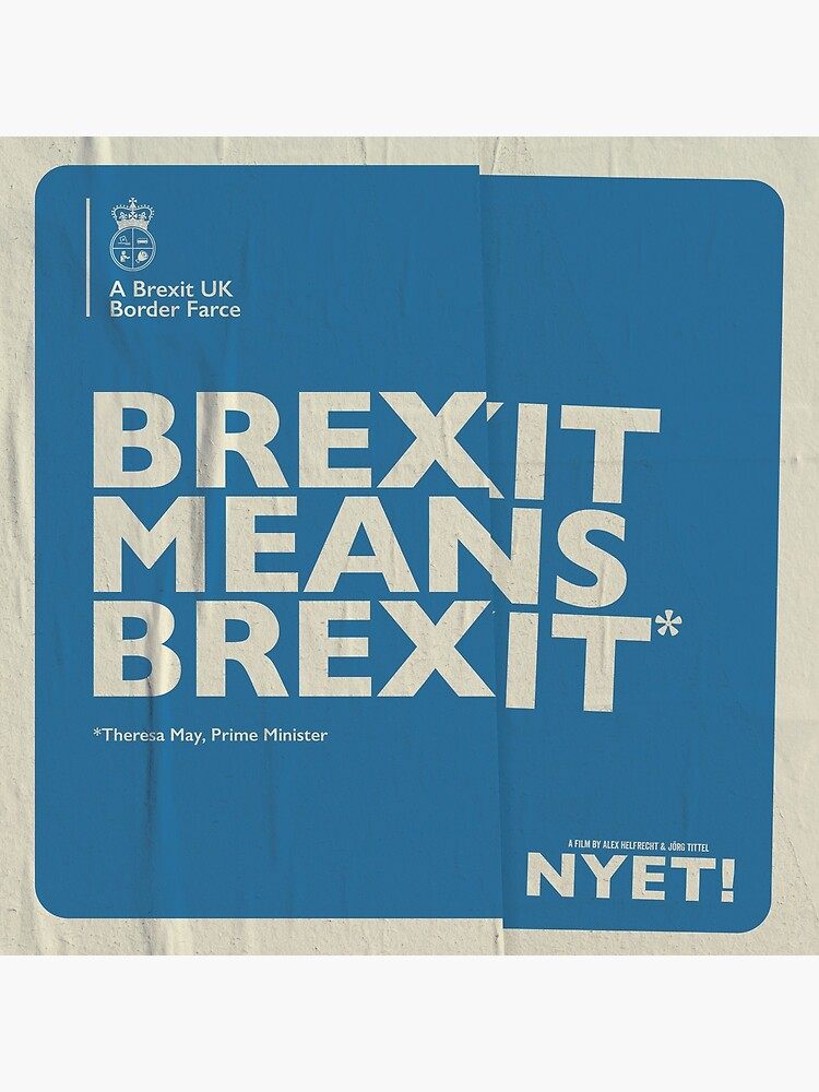 Brexit Pillow by nyetfilm