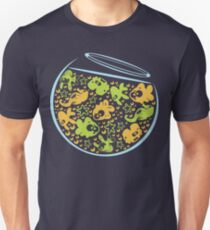 Fishbowl with Fish Unisex T-Shirt