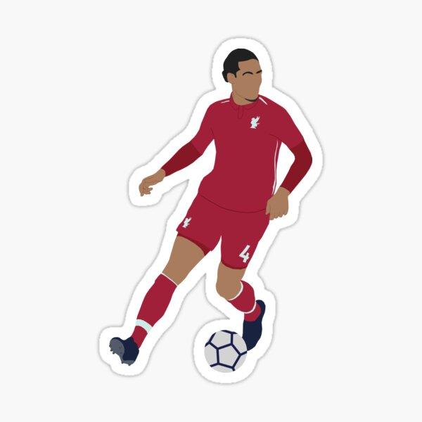 Virgil Van Dijk Sticker
