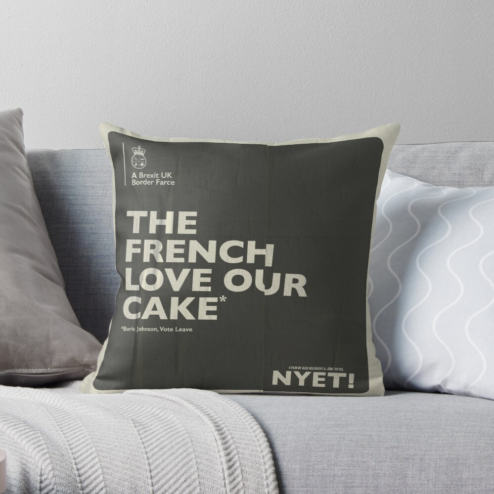 The French Pillow Throw Pillow
