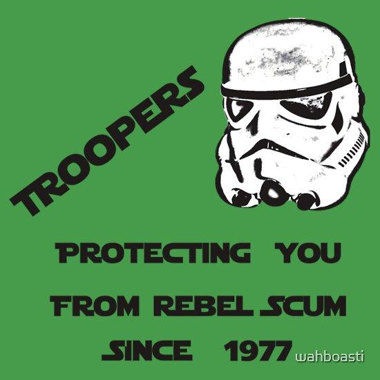TShirtGifter presents: Troopers