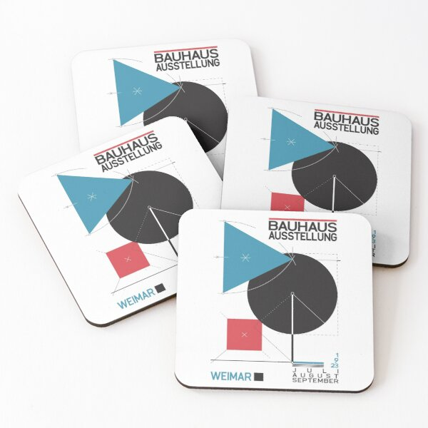 Bauhaus#8 Coasters (Set of 4)