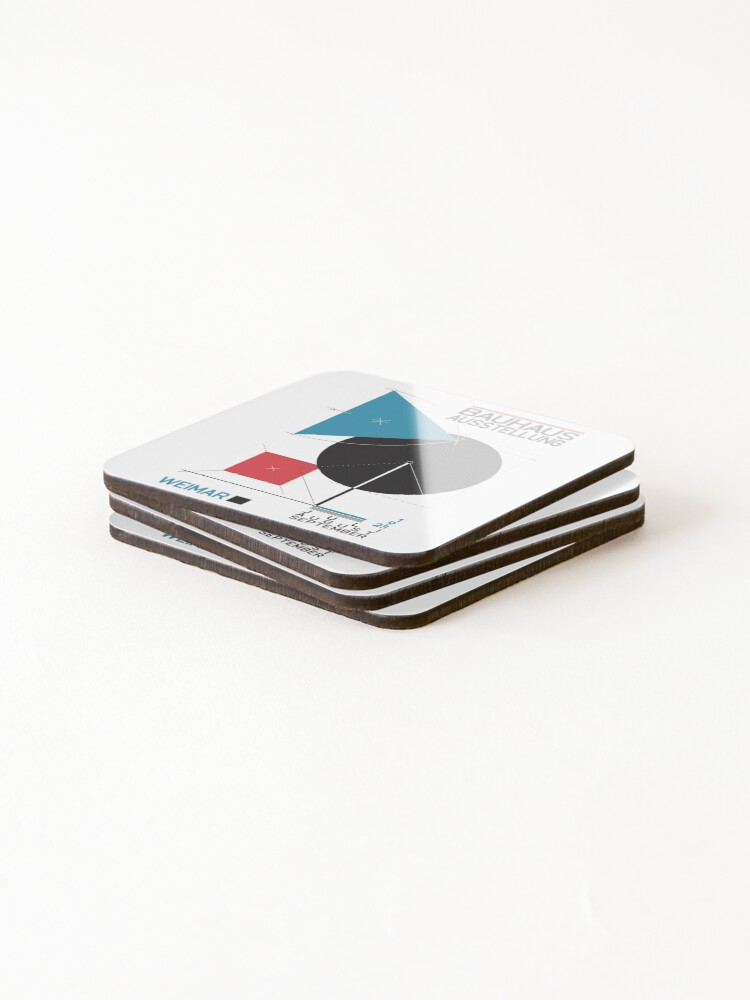 Alternate view of Bauhaus#8 Coasters (Set of 4)
