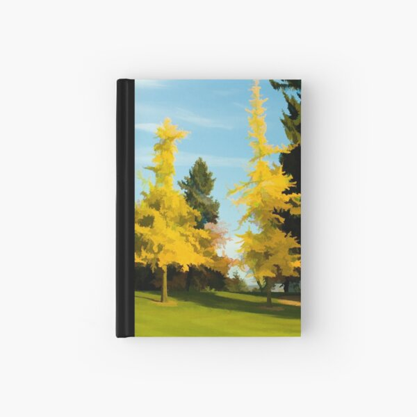 Golden Autumn Hardcover Journal
