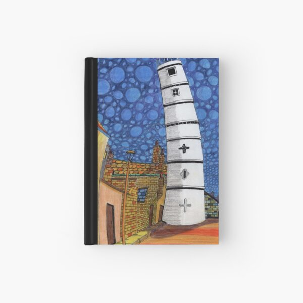 201 - THE LIGHTHOUSE, BLYTH - COLOURED PENCILS - 2008 Hardcover Journal