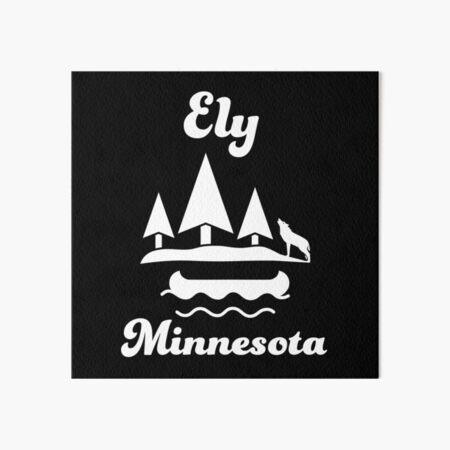 Ely, Minnesota Art Board Print