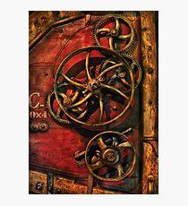 Steampunk - Clockwork Photographic Print