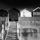A Hut For All Seasons BW by Andy Freer
