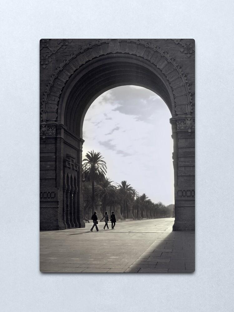 Alternate view of The Gate  Metal Print