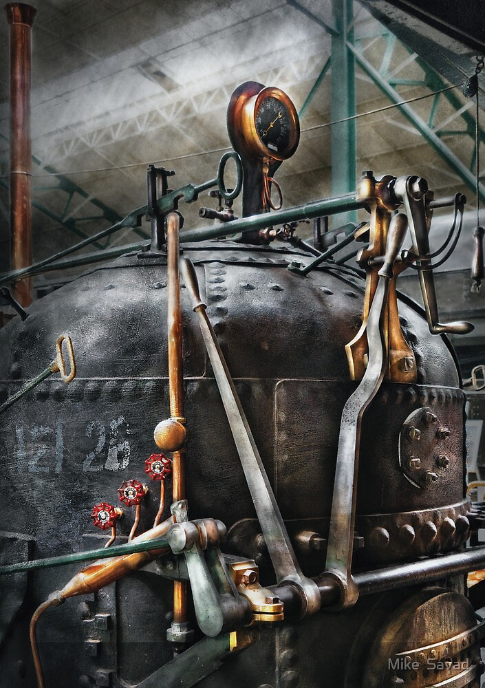 Steampunk - The Steam Engine by Michael Savad