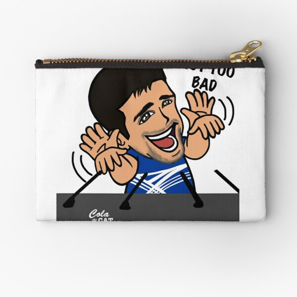 Novak Djokovic Zipper Pouches Redbubble
