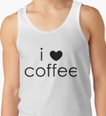 i love coffee Tank Top