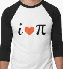 Pi Day Baseball ¾ Sleeve T-Shirt
