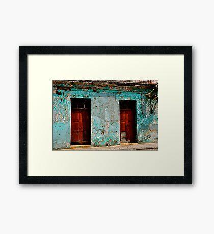 Dos Puertas Framed Print