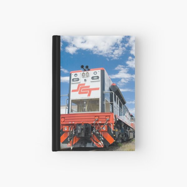 SCT 001. First cab off the rank. Hardcover Journal