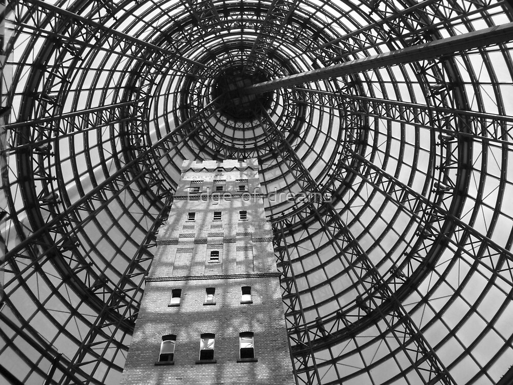 Coops Shot Tower, Melbourne CBD, Australia. by Edge-of-dreams