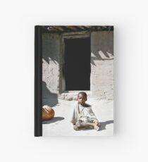 young farmer boy Hardcover Journal