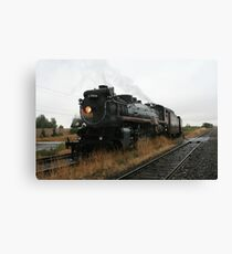 Canadian Pacific 2816 Empress Steam Engine Canvas Print