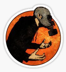 The Lonely Hunter Sticker