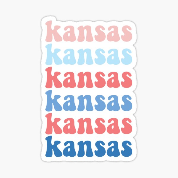 Kansas Sticker