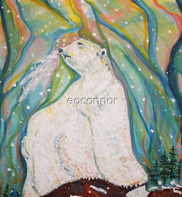Polar King in Aurora Light by eoconnor