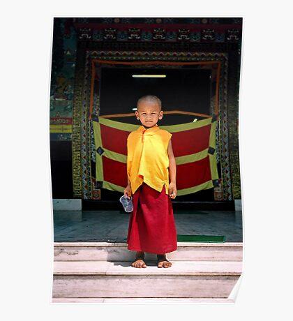 future buddha. northern india Poster