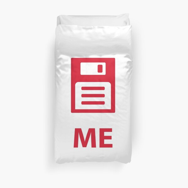 Save me tech nerd style Duvet Cover
